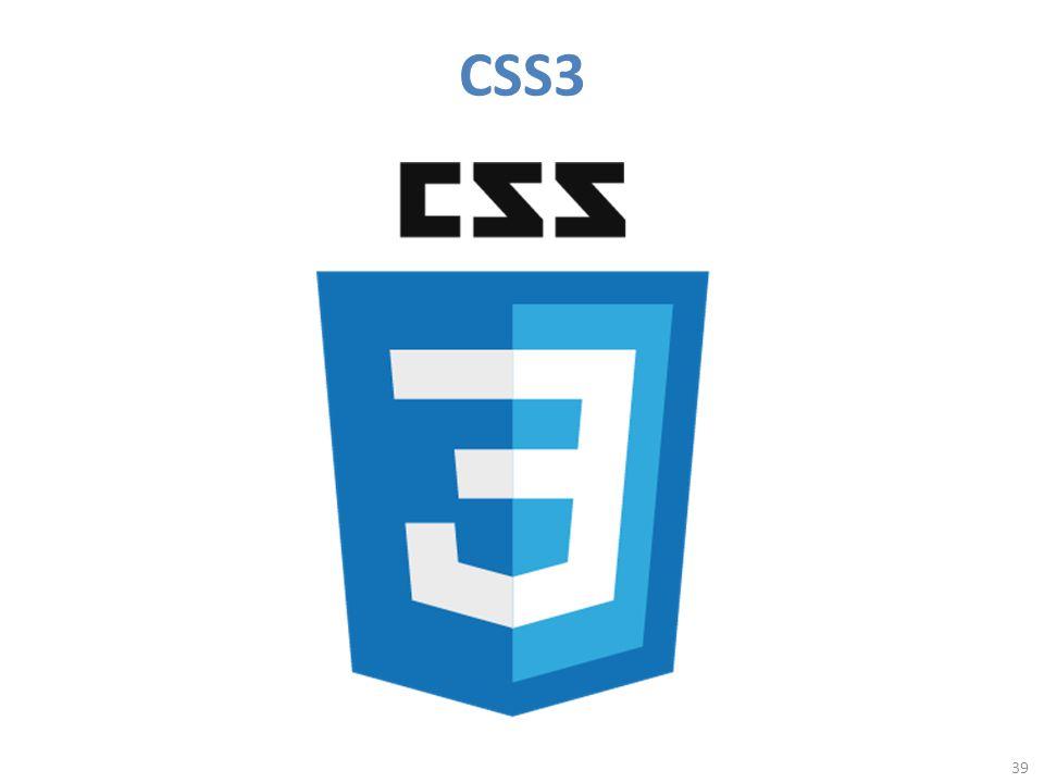 CSS3 39