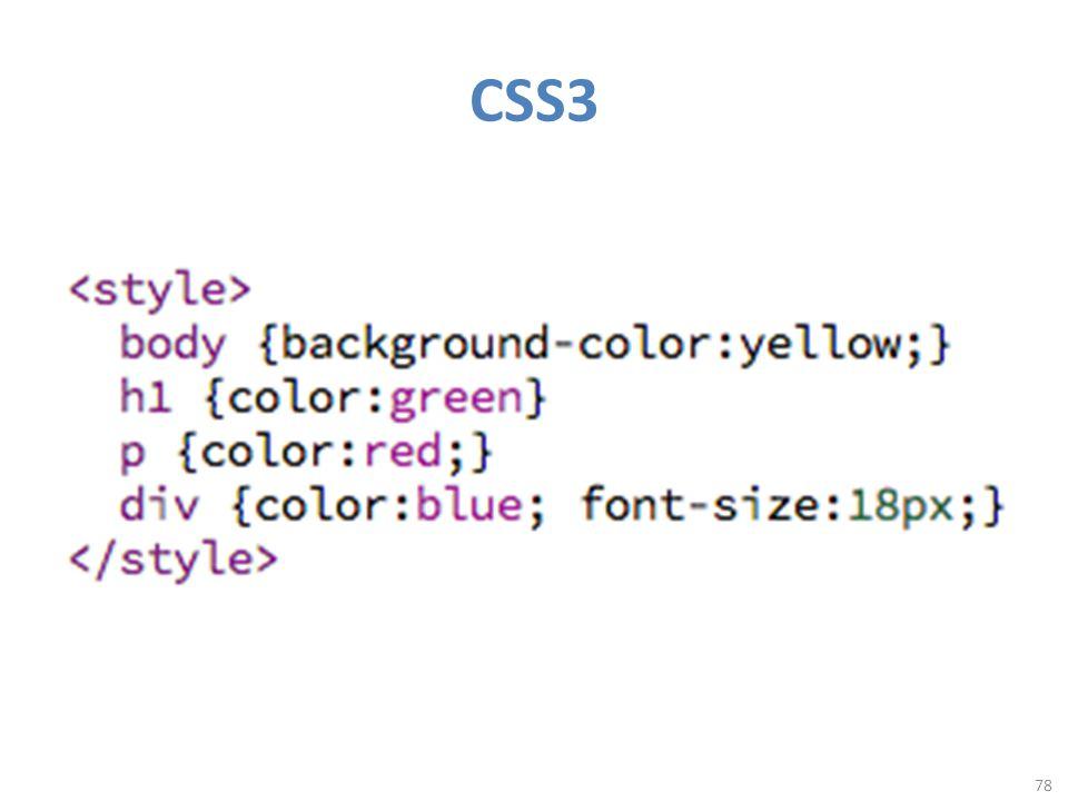 CSS3 78