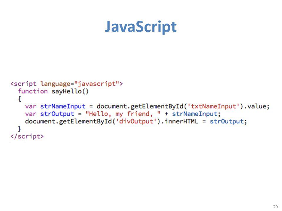 JavaScript 79