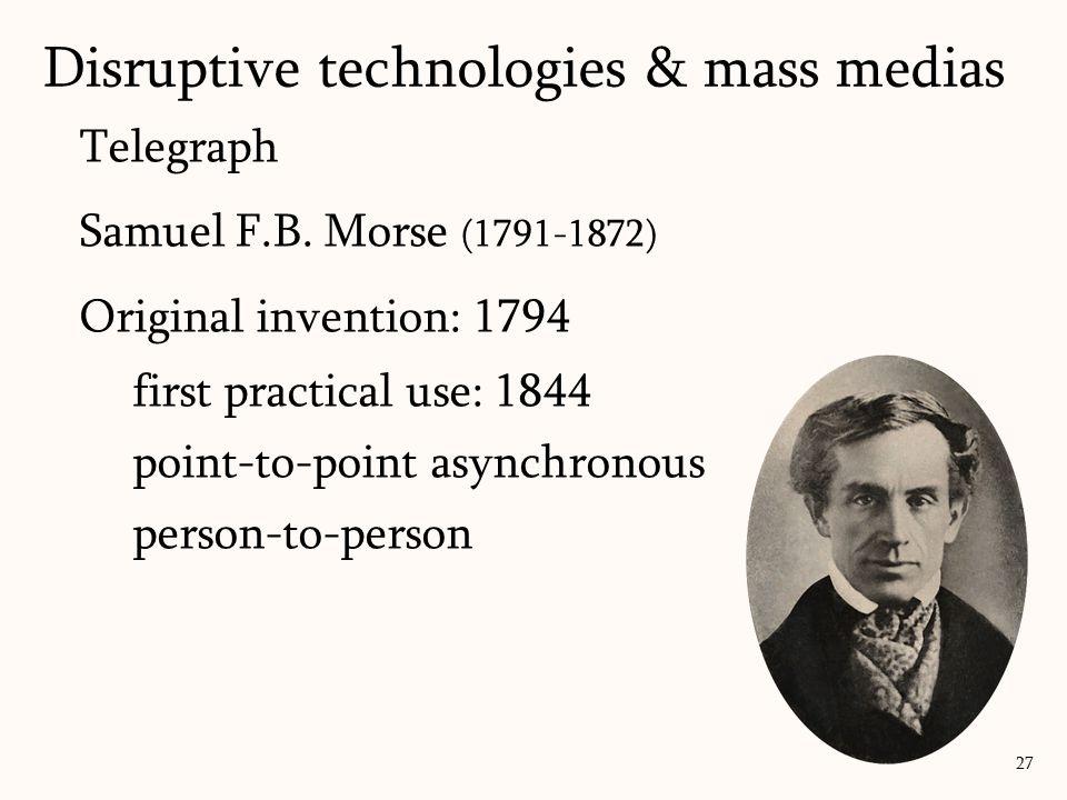 Telegraph Samuel F.B.