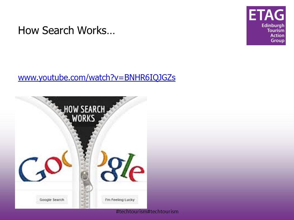 #techtourism#techtourism How Search Works… www.youtube.com/watch v=BNHR6IQJGZs