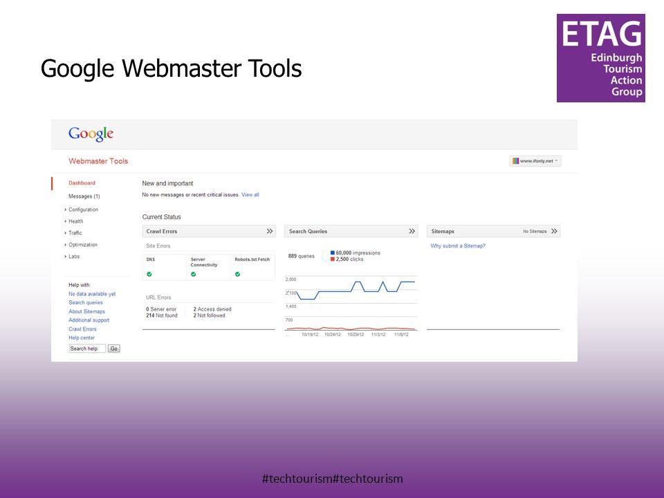 #techtourism#techtourism Google Webmaster Tools