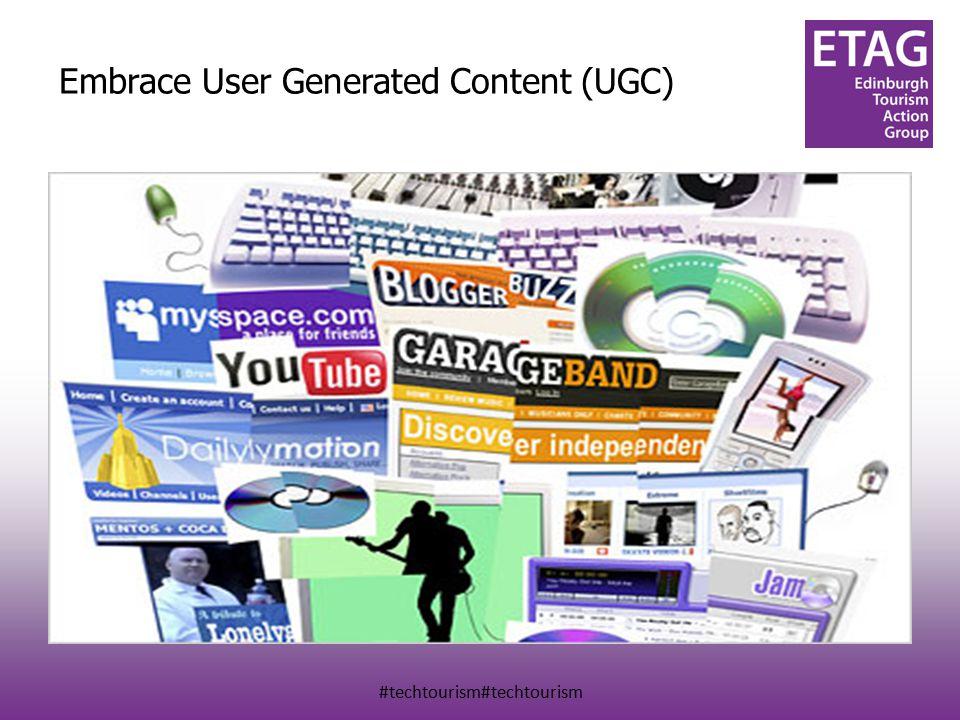 #techtourism#techtourism Embrace User Generated Content (UGC)