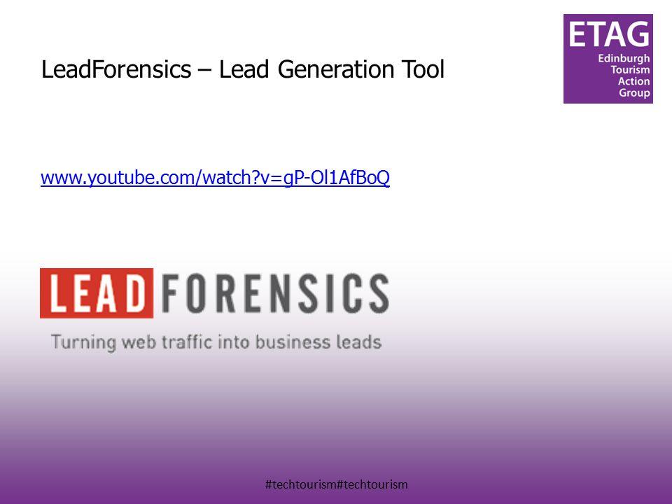 #techtourism#techtourism LeadForensics – Lead Generation Tool www.youtube.com/watch v=gP-Ol1AfBoQ