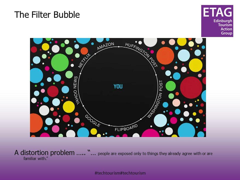 #techtourism#techtourism The Filter Bubble A distortion problem …..