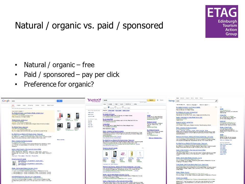 #techtourism#techtourism Natural / organic vs.