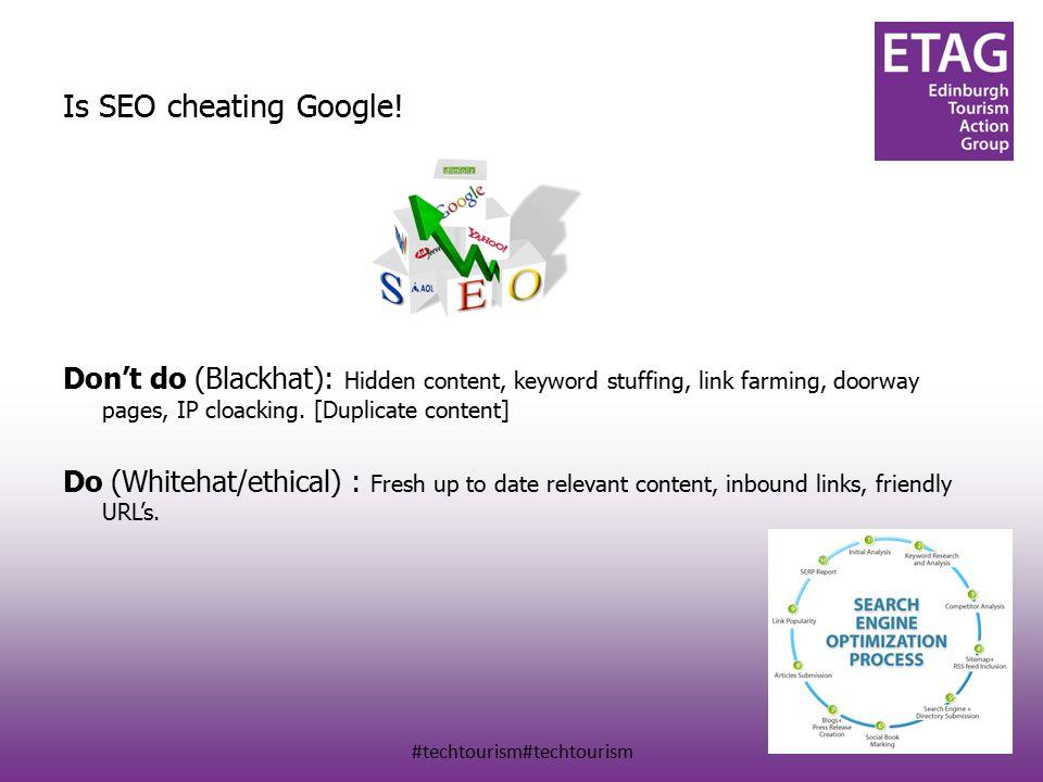 Is SEO cheating Google.