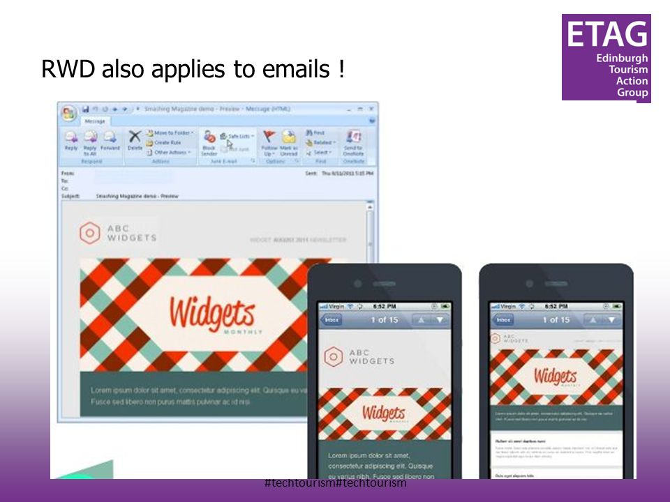 #techtourism#techtourism RWD also applies to emails !