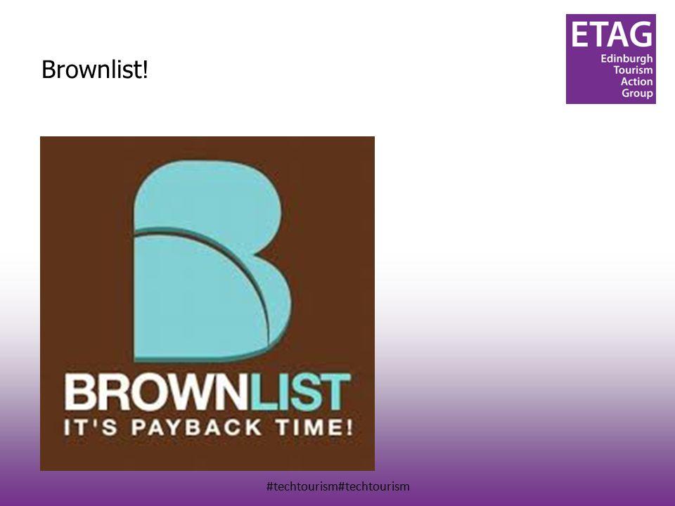 #techtourism#techtourism Brownlist !