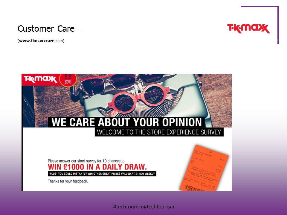 #techtourism#techtourism Customer Care – (www.tkmaxxcare.com)