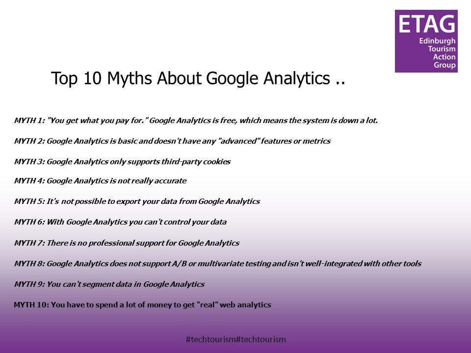 #techtourism#techtourism Top 10 Myths About Google Analytics..