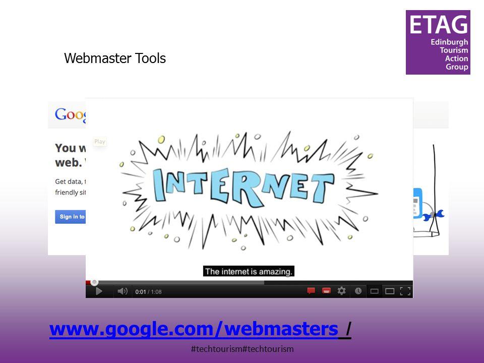 #techtourism#techtourism Webmaster Tools www.google.com/webmasters www.google.com/webmasters /
