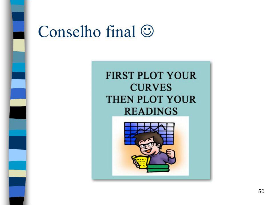 Conselho final 50