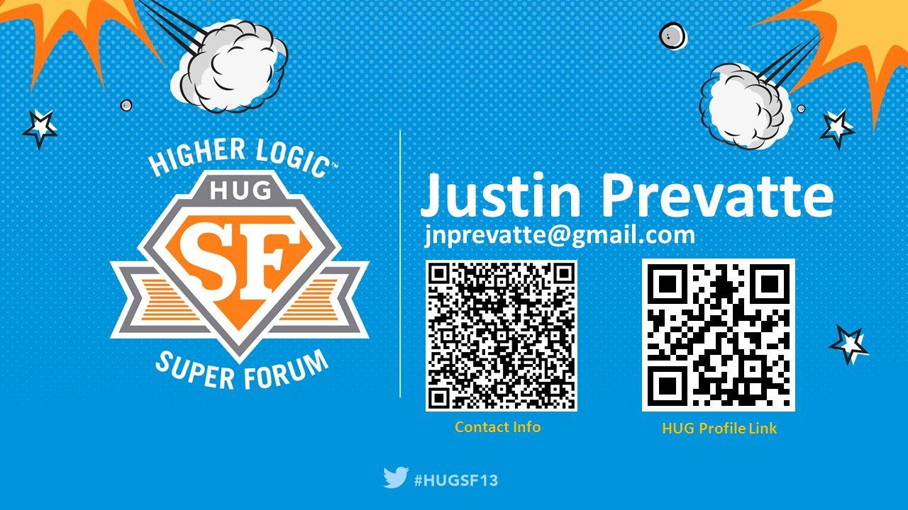 Justin Prevatte jnprevatte@gmail.com Contact Info HUG Profile Link