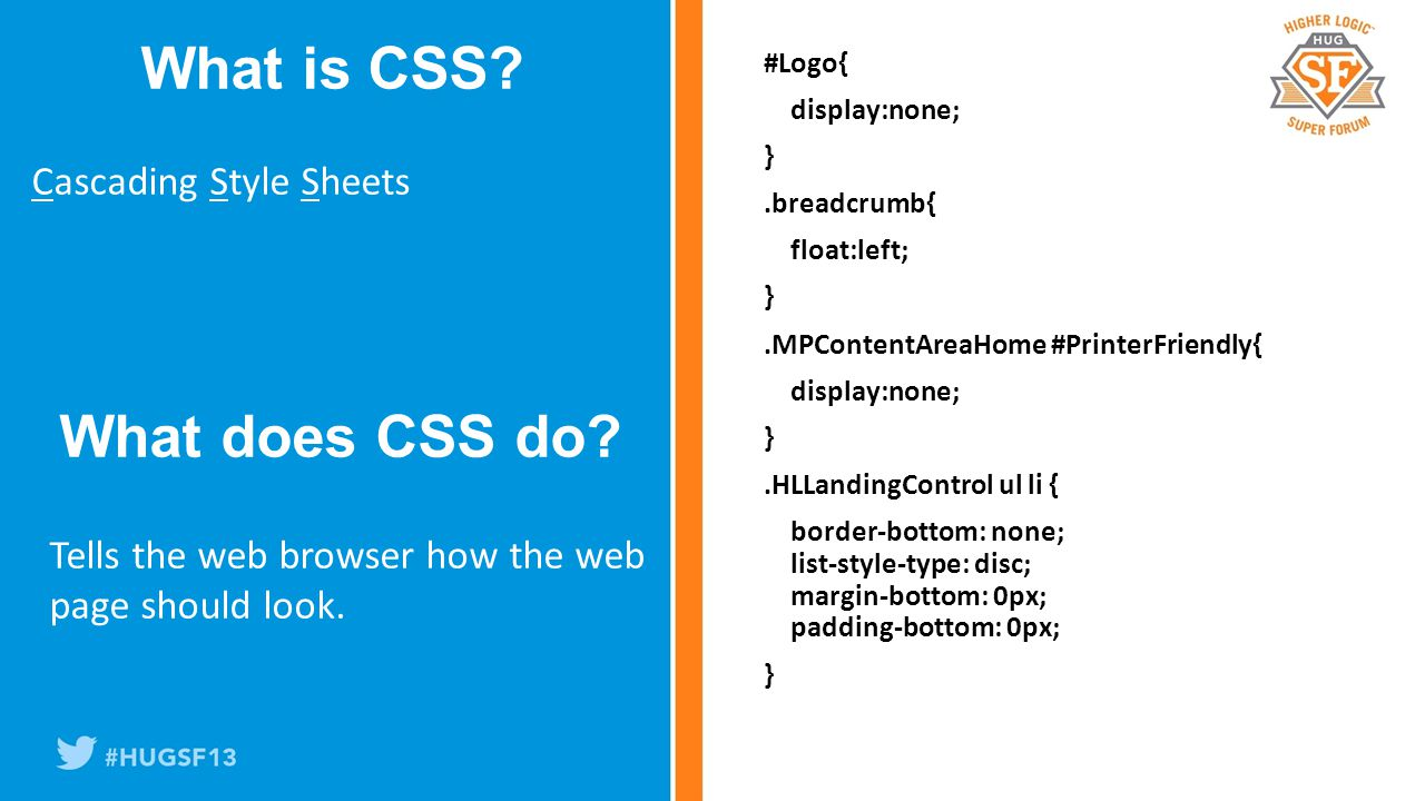 Cascading Style Sheets What is CSS.
