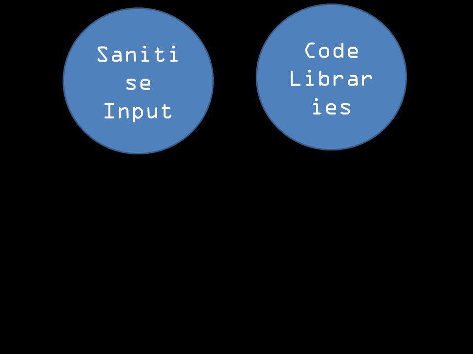 Code Librar ies