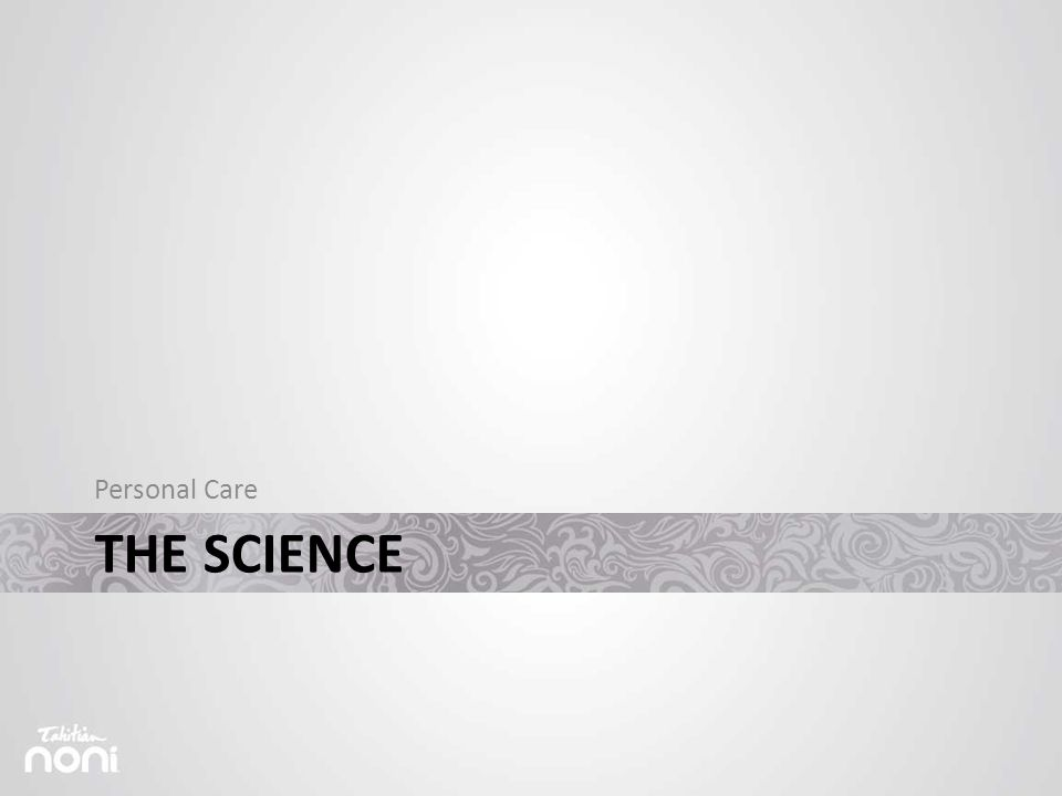 THE SCIENCE Personal Care