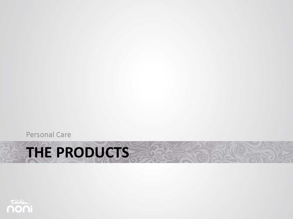 THE PRODUCTS Personal Care