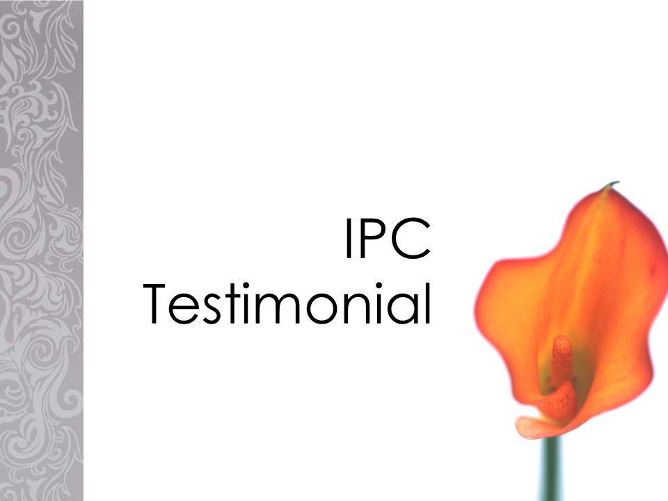IPC Testimonial