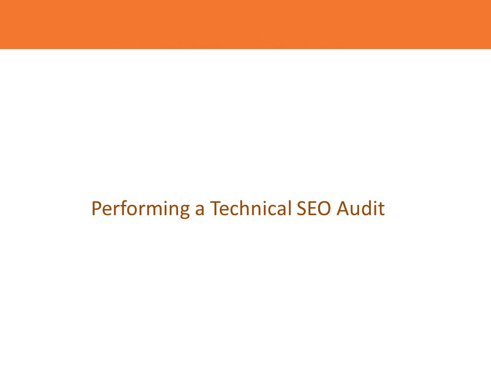 Audit SEO - plan de actiune Analyze On-Site Data Title Tags Meta Descriptions Headings H1, H2, etc.