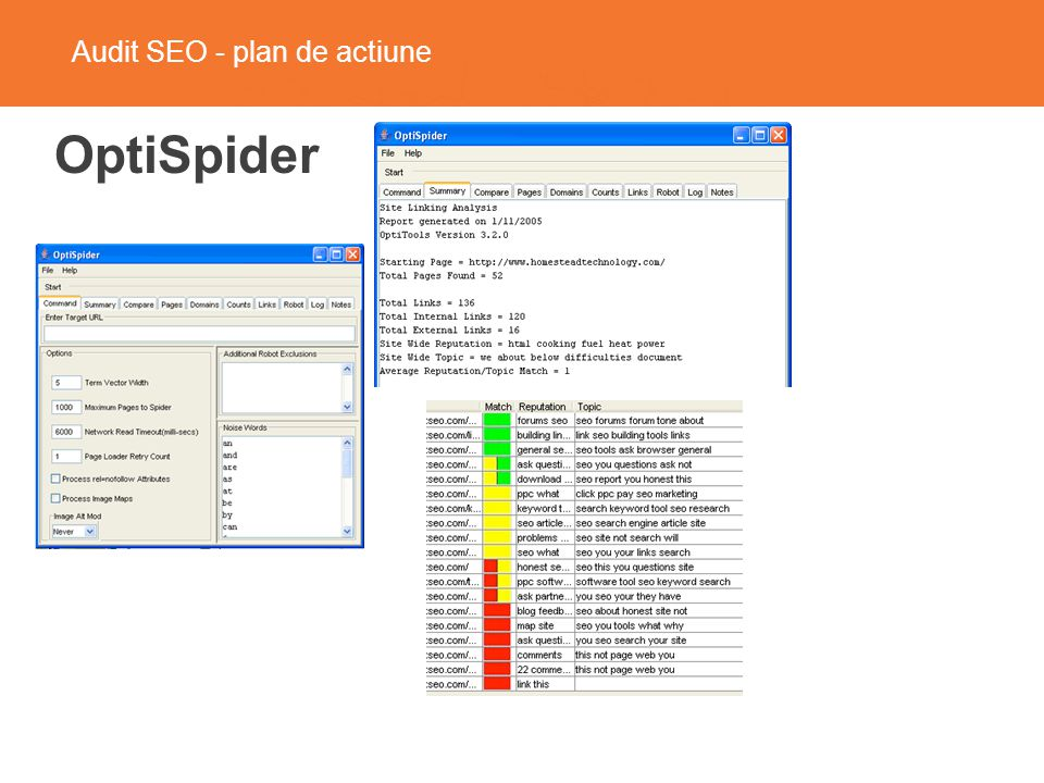 Audit SEO - plan de actiune Site Speed, DNS Health Tools.Pingdom.com