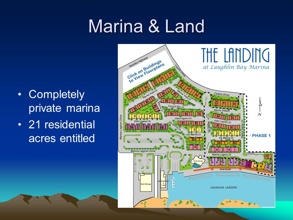 Marina & Land Completely private marina 21 residential acres entitled