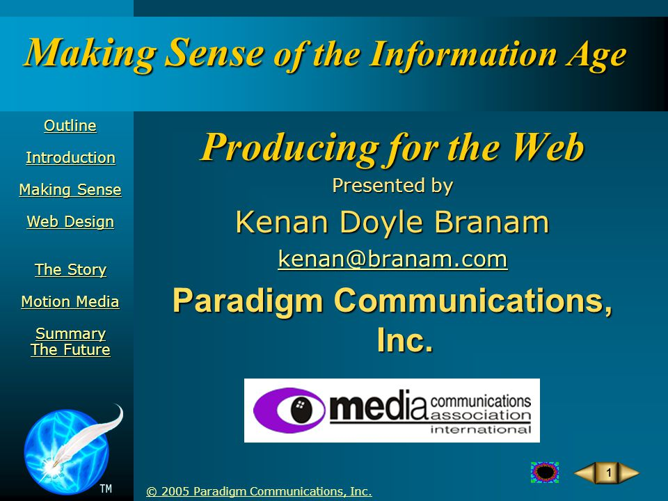 © 2005 Paradigm Communications, Inc.