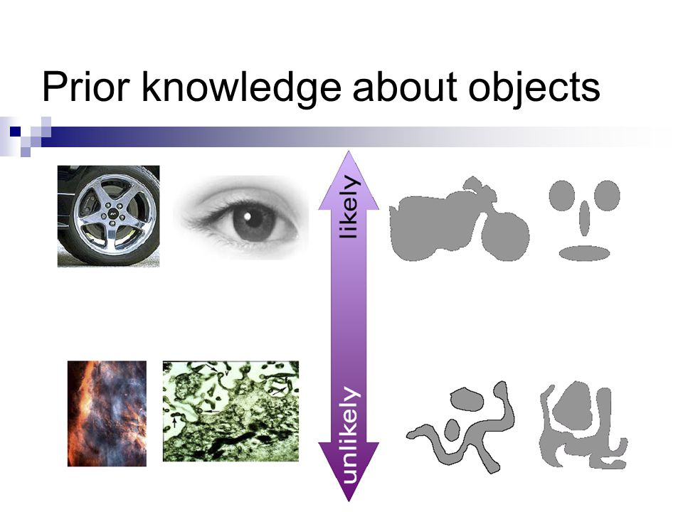 Prior knowledge about objects