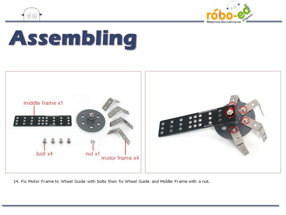 Assembling 14.