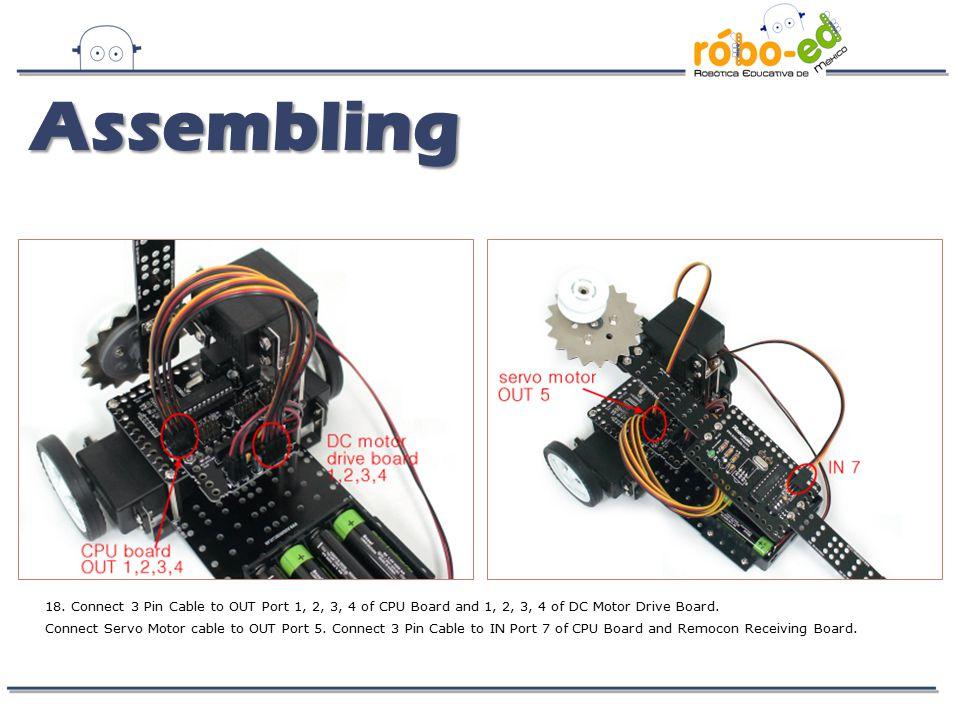 Assembling 18.