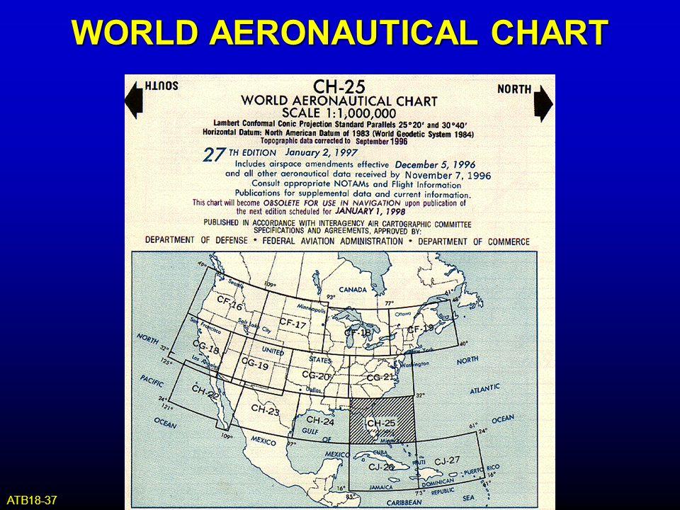 WORLD AERONAUTICAL CHART ATB18-37