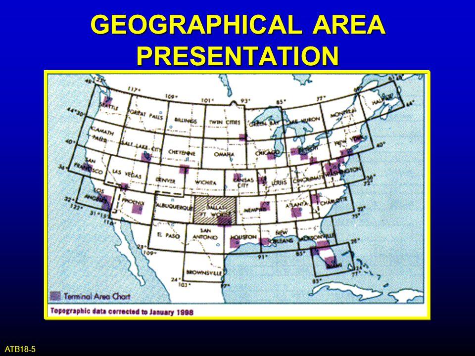 GEOGRAPHICAL AREA PRESENTATION ATB18-5