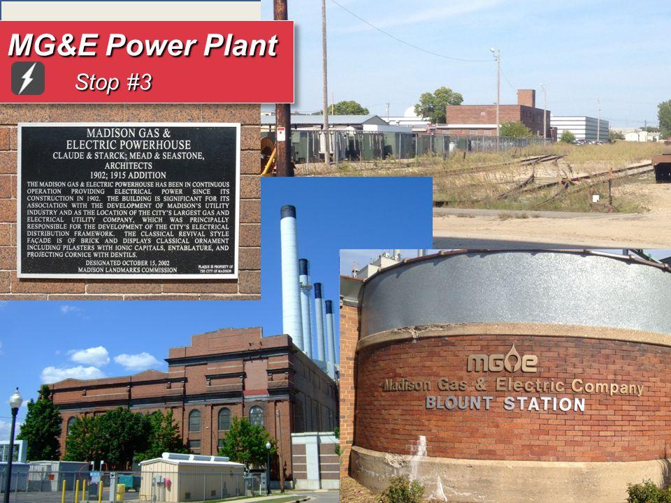 MG&E Power Plant Stop #3