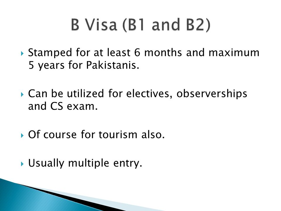  Pre-requisites: ◦ Accommodation in the U.S.◦ Employment here in Pakistan preferable.