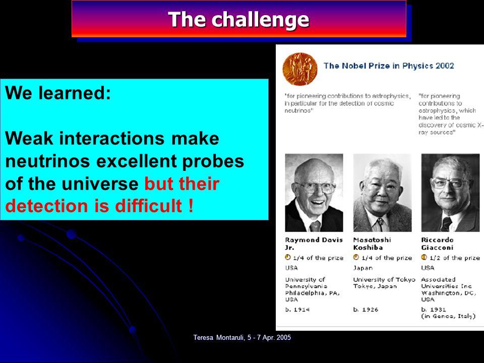 Teresa Montaruli, 5 - 7 Apr. 2005 Astrophysical neutrinos: from SN1987A http://www.nu.to.infn.it/Supernova_Neutrinos/#7 SN1987A: SN1987A: 99% of bindi