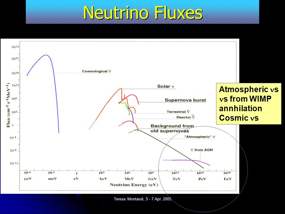 Teresa Montaruli, 5 - 7 Apr. 2005 The challenge We learned: Weak interactions make neutrinos excellent probes of the universe but their detection is d
