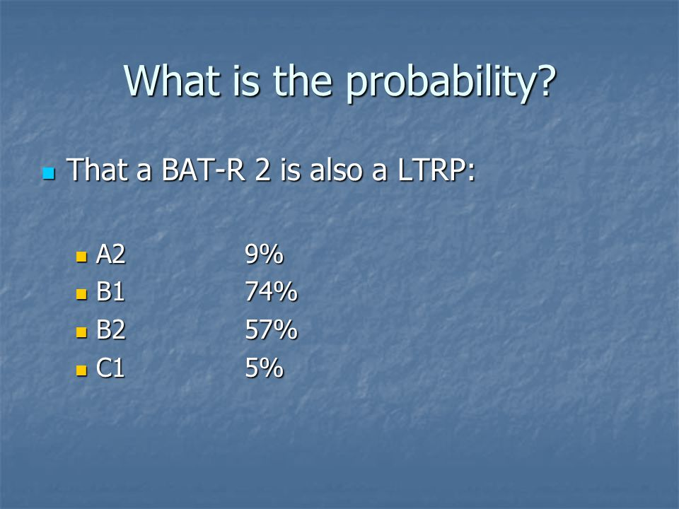 What is the probability.
