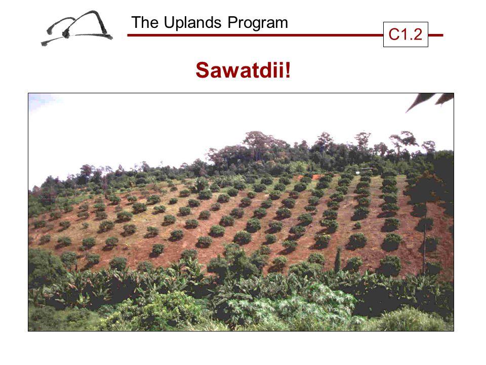 The Uplands Program C1.2 Sawatdii!