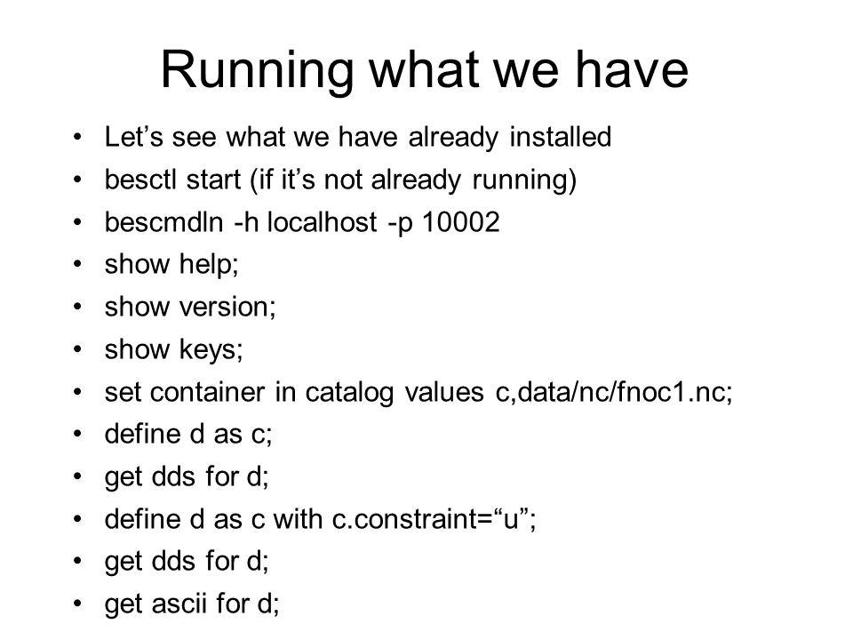 Typical Catalog Configuration Data handlers, e.g.