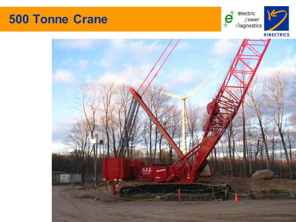 500 Tonne Crane