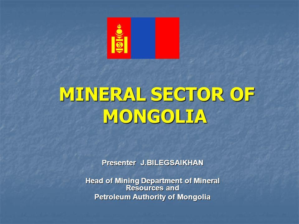 22 Strategic deposits in production 1ERDENETCoppermolibdenium B+C1 = 3,2 mil t Cu, B+C1 = 90 thous t Mo, Orkhon Erdenet 6BOROOGold 36 t Selenge Mandal 2 BAGANUUR Brown Coal A+B+C1 = 511,4 mil t CentralBayandelger 3 SHIVEE OVOO Brown Coal A+B+C1 =564.0 mil t Govisumber 4 NARIIN SUKHAIT Hard Coal A+B+C1 = 88.9 mil t Southgovi Gurvantes 5 TOMURTIIN OVOO Zinc B+C1 = 1.329 mil t Sukhbaatar Sukhbaatar