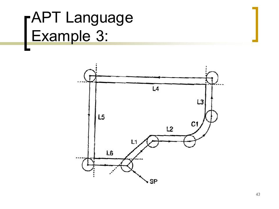 43 APT Language Example 3: