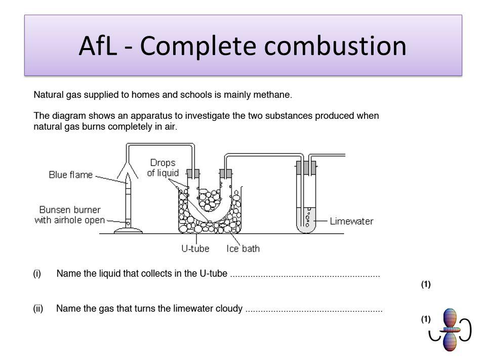 AfL - Complete combustion
