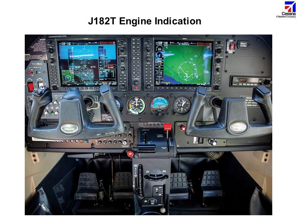 J182T Engine Indication