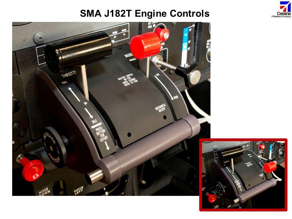 SMA J182T Engine Controls