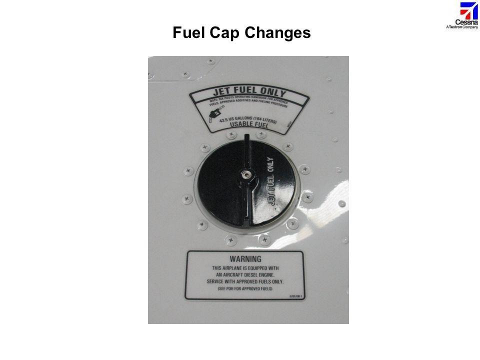 Fuel Cap Changes