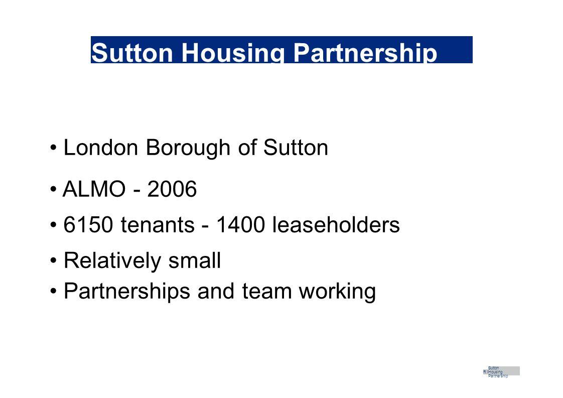 Building Lives R Part Sutton Housing Partnership