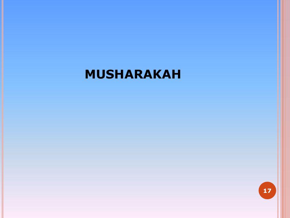 MUSHARAKAH 17
