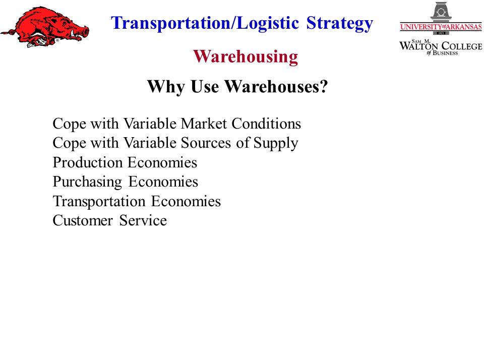 Warehousing Transportation/Logistic Strategy Cross-Docking