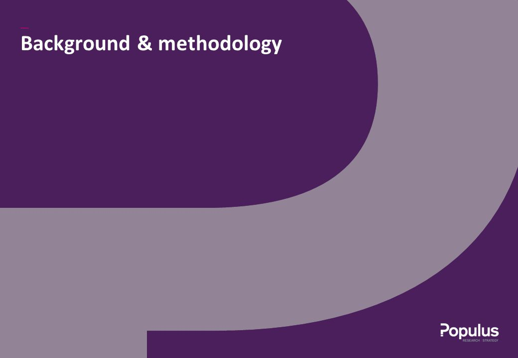 Background & methodology